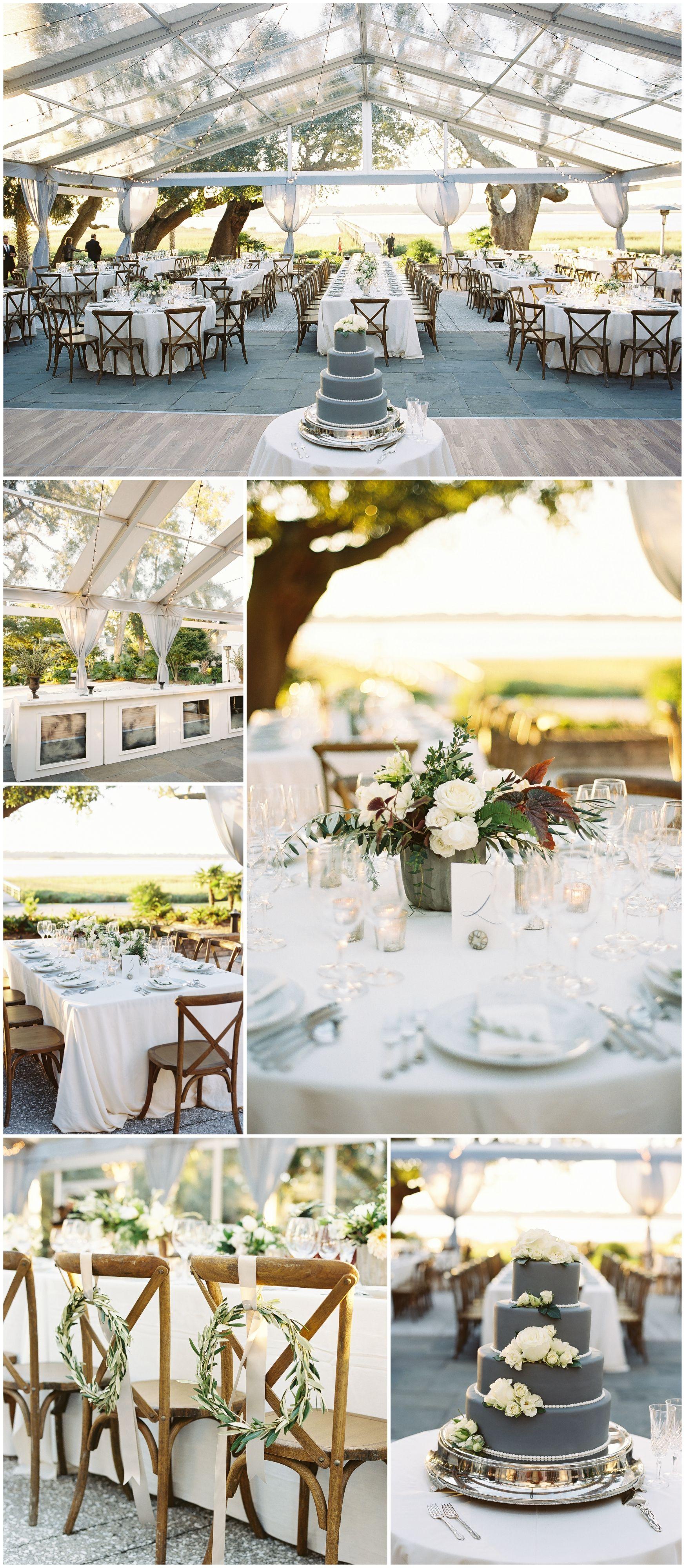The smarter way to wed clear tent grey weddings and wedding designs