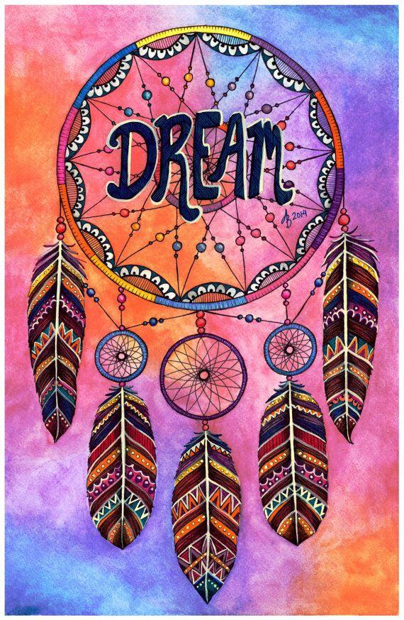 dreamcatcher dreamcatcher attrape r ve jolie dessin et dessin. Black Bedroom Furniture Sets. Home Design Ideas