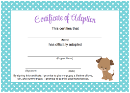 free printable adoption certificate  free printable adoption certificate - Funf.pandroid.co