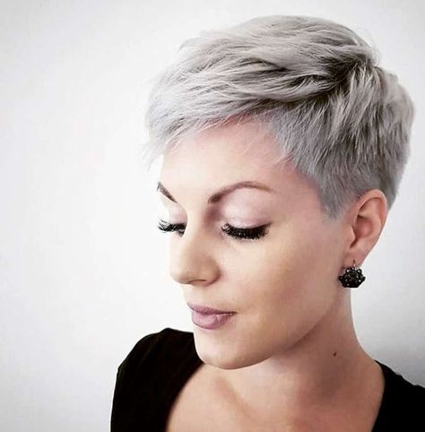 Short Hairstyle 2018 Coupe cheveux tres court, Coiffures