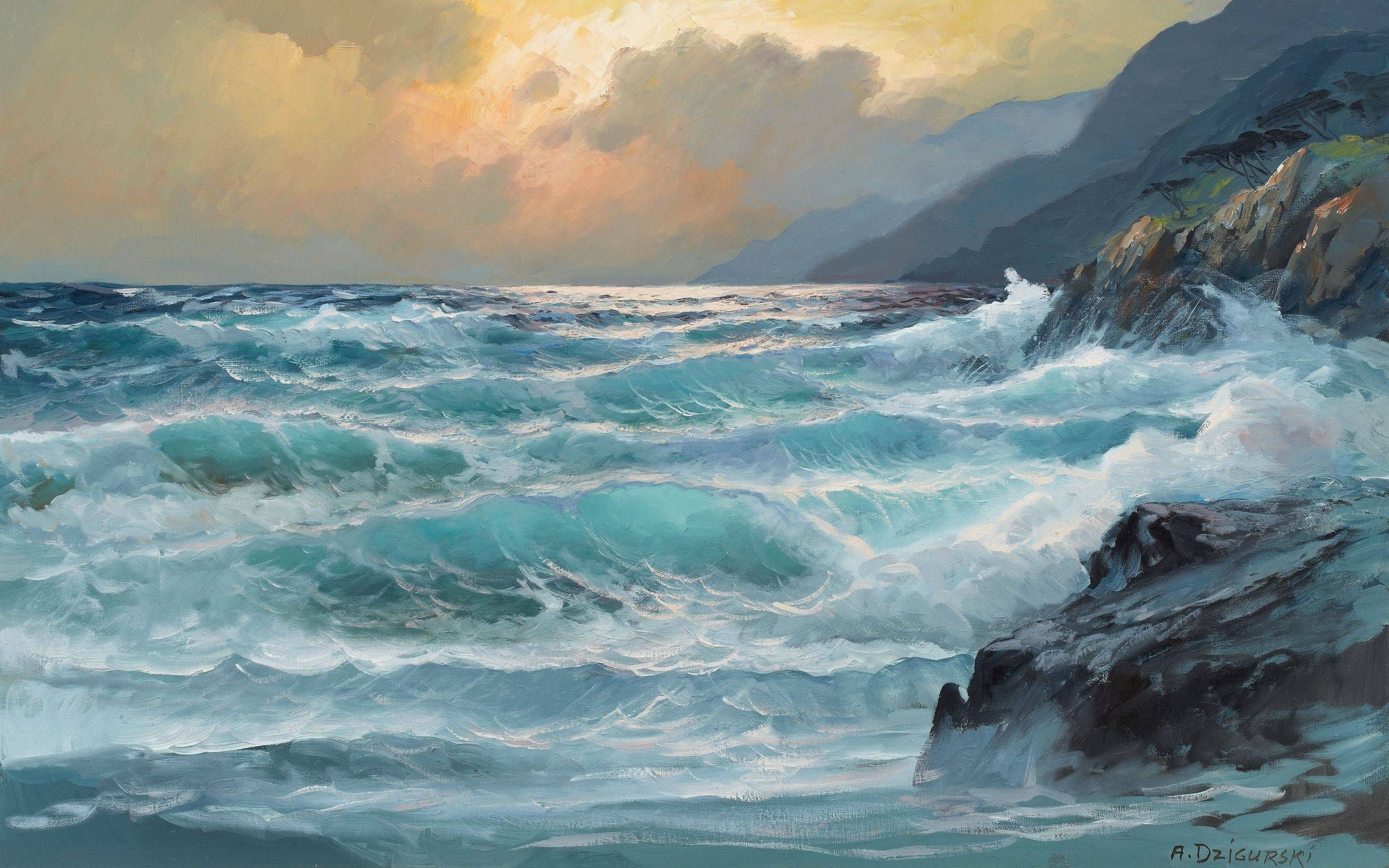 paintings-ocean-2560x1600-wallpaper-1682888.jpg 2,560 ...