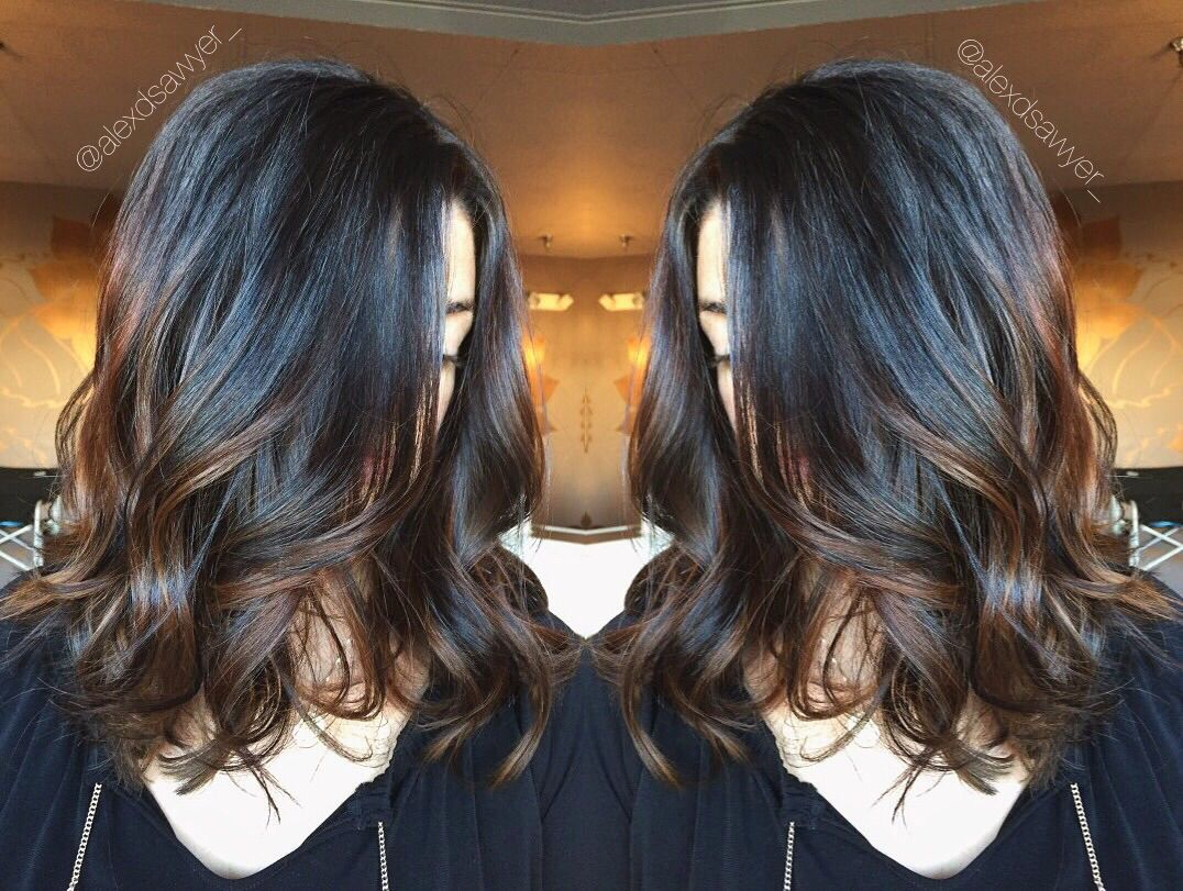 Warm Brunette Balayage Perfect For Fall Cut Amp Color By