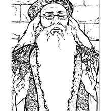 Albus Dumbledore Coloring Page Coloring Page Movie Coloring