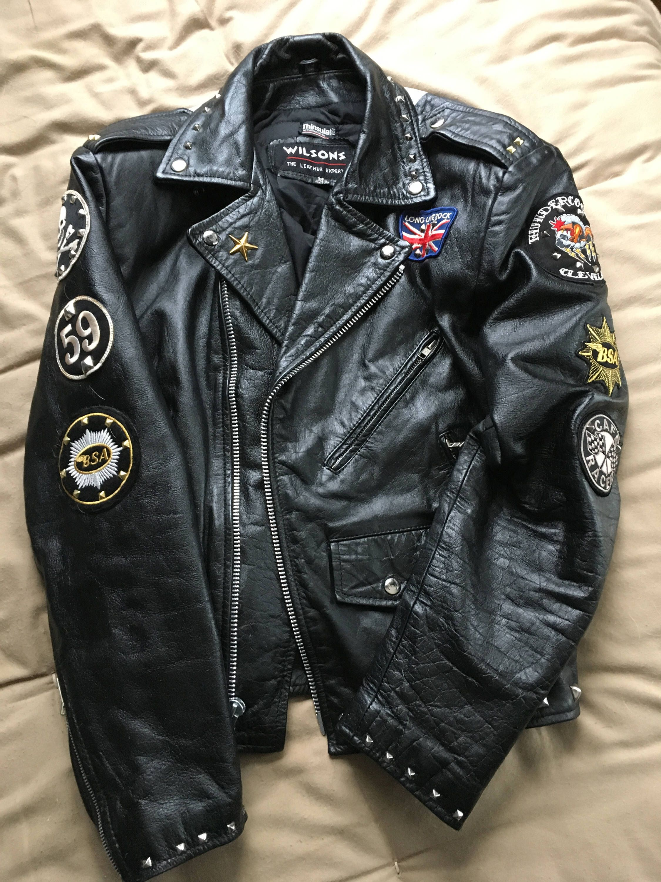 8e63c7438e Pin by Todd Nelson on Rocker Jackets in 2019 | Motorcycle jacket ...