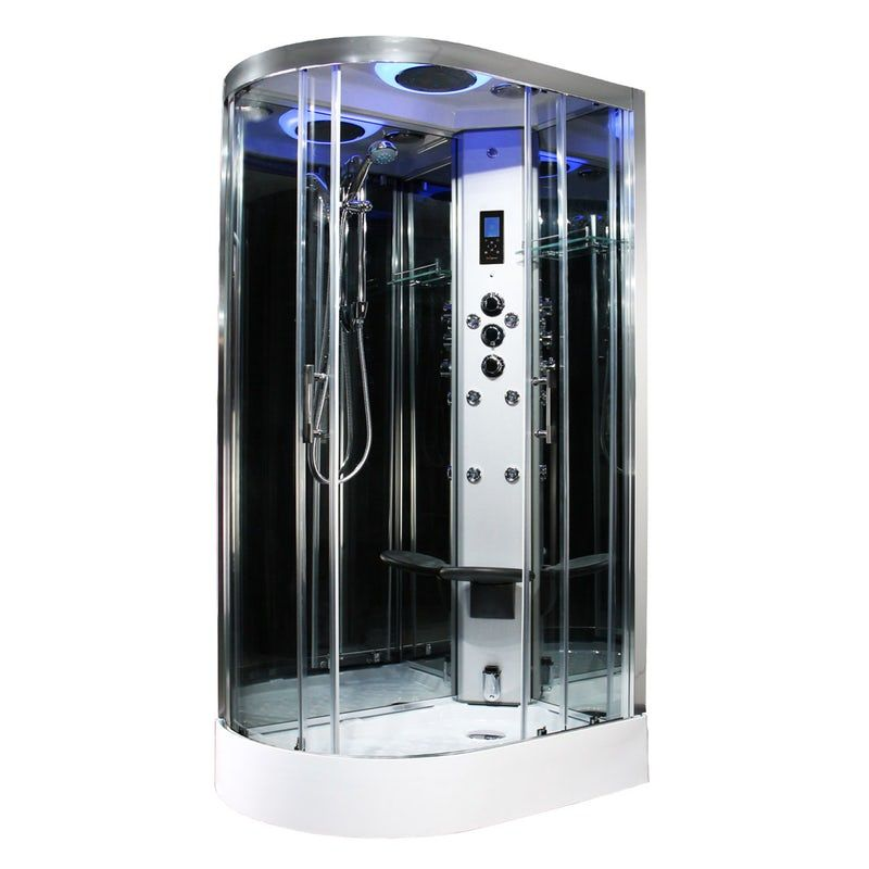 Insignia Premium Offset Quadrant Right Handed Steam Shower Cabin Shower Cabin Steam Shower Cabin Steam Showers
