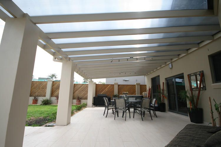 Polycarbonate Alfresco Roofing