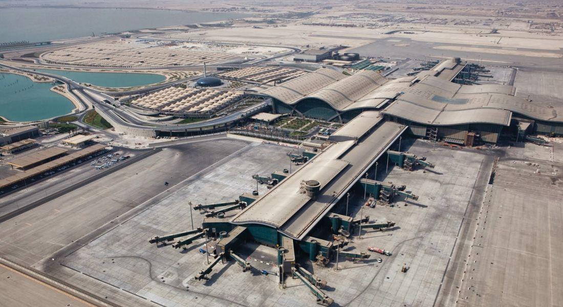 Aeroporto Hamad : Hamad international airport doha terminals