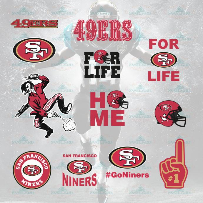San Francisco 49ers,San Francisco 49ers svg, by Momo's