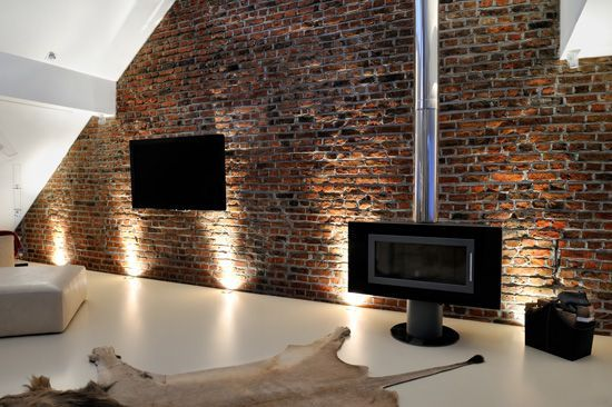 Interior brick veneer google search basement ideas for Interior brick veneer