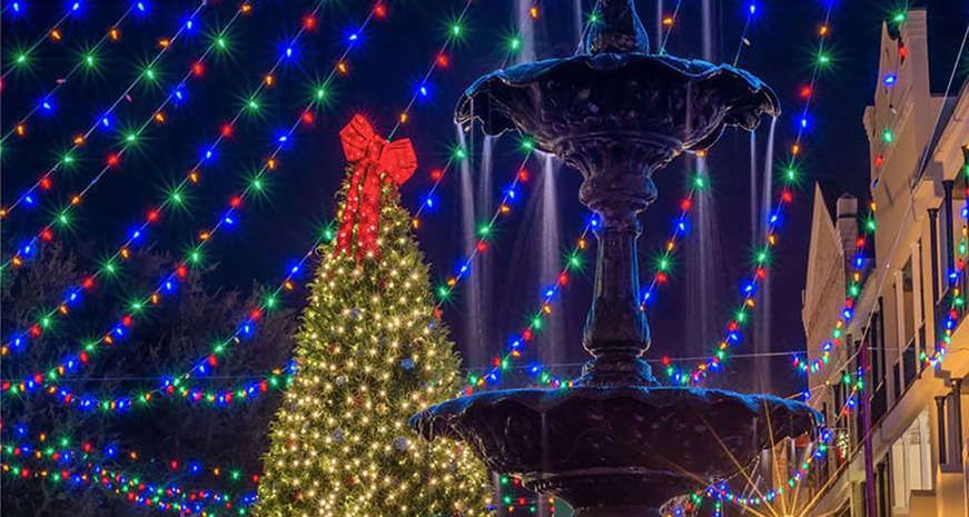 The best holiday festivals in the South Christmas town