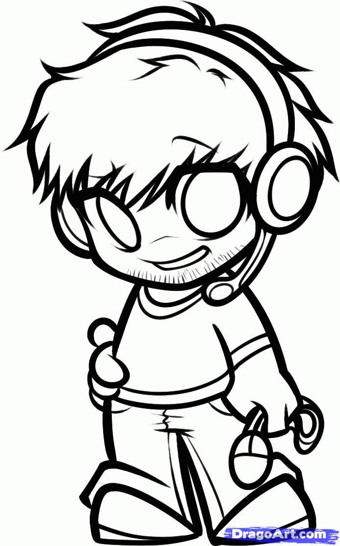 Www Dragoart Com Arts Crafts Drawings Chibi Online