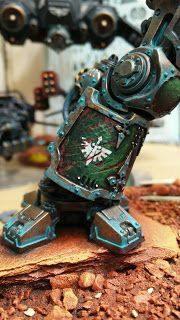 Confessions of a 40k addict: Imperial Knight - in manufactorum pt 17