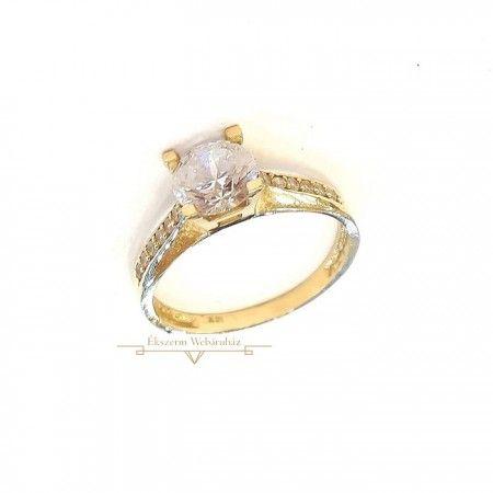 c3ef0f3f07 Arany Gyűrű (méret:55) SG 46281 | Ékszerek | Engagement Rings, Gold ...
