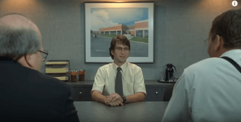 Job Interview In Office Space 20th Century Fox We Re Usually Told That Lying Is Bad It S Not Hard To See Why Lying Is A Job Interview Interview Job Hunting