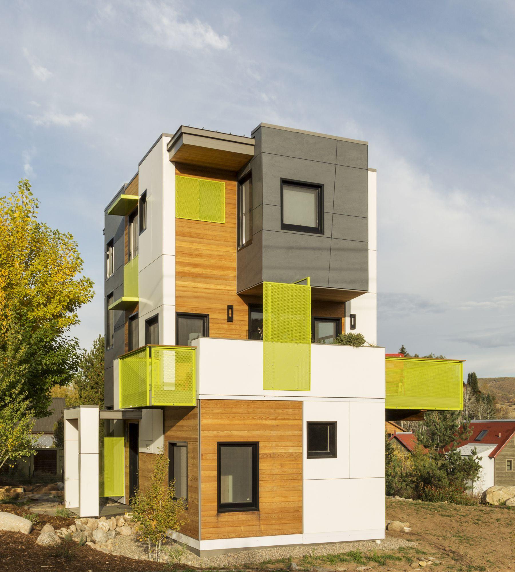 Butcherknife Residence Energy Efficient Homes Small