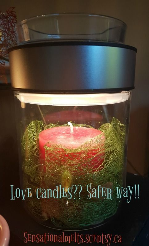 Love candles but scared because it is not safe? Make a scene lets you decorate it any way you want to and even put candles in it!