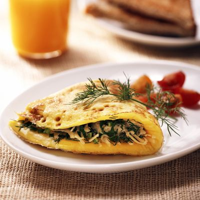Spring Herb Omelets
