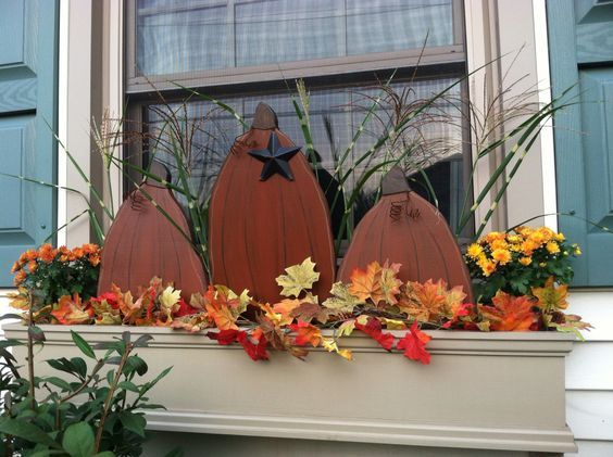 Fall Window Box For Your Windows Autumn Pinterest Window Unique Decorating Window Boxes For Fall