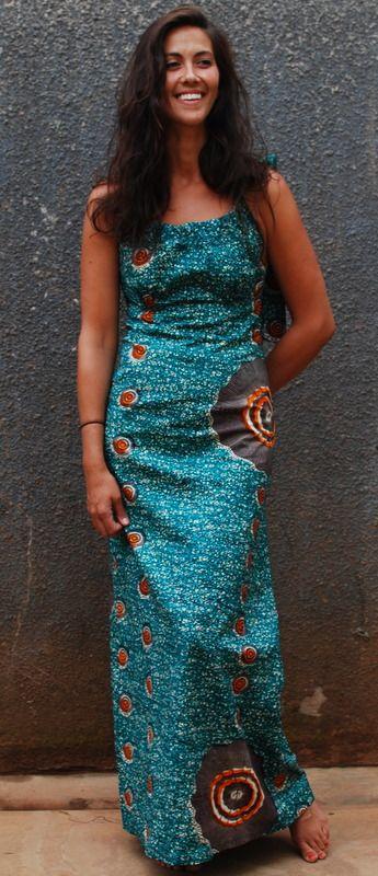 African print fabric dresses