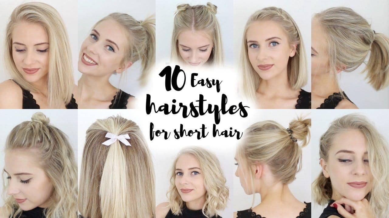 Short hairstyles for short hair   Short hair styles easy ...
