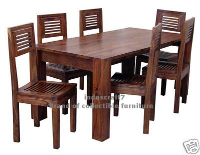 Wood Dining Tables solid wood dining table designs - google search | unique designs