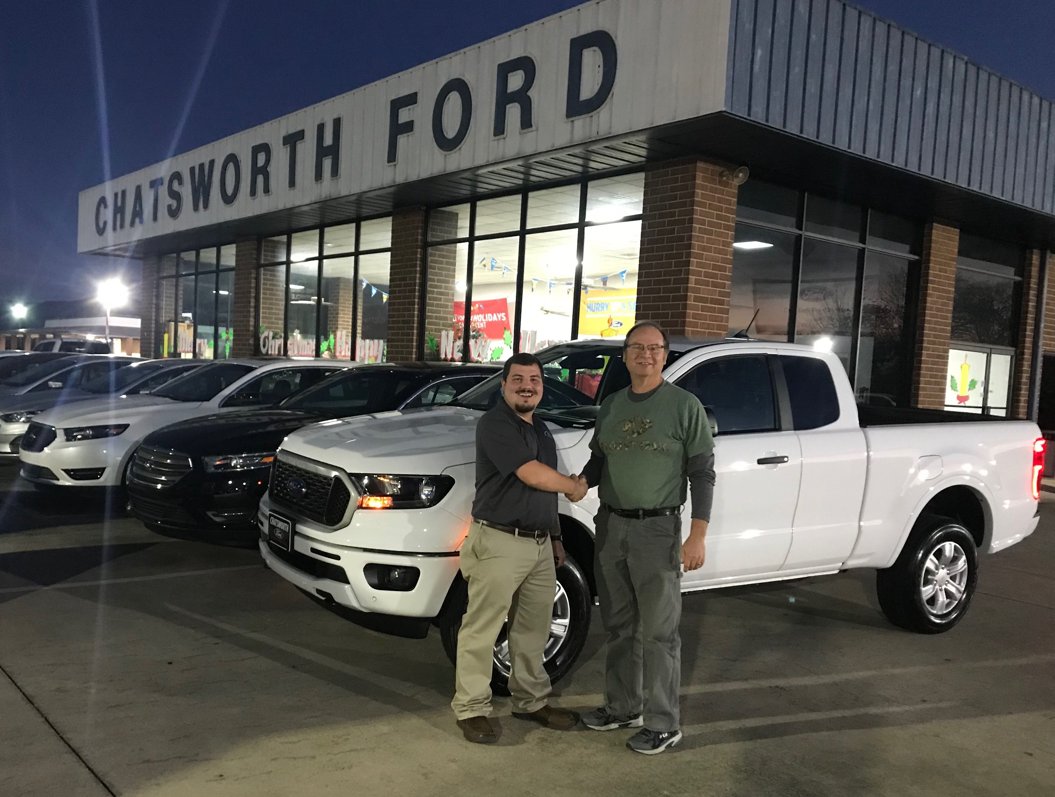 congratulations davey silvers of chatsworth ga on your new 2019 ranger sold by jared langham we know you re going to love it ford news chatsworth 2019 ranger ford news chatsworth 2019 ranger