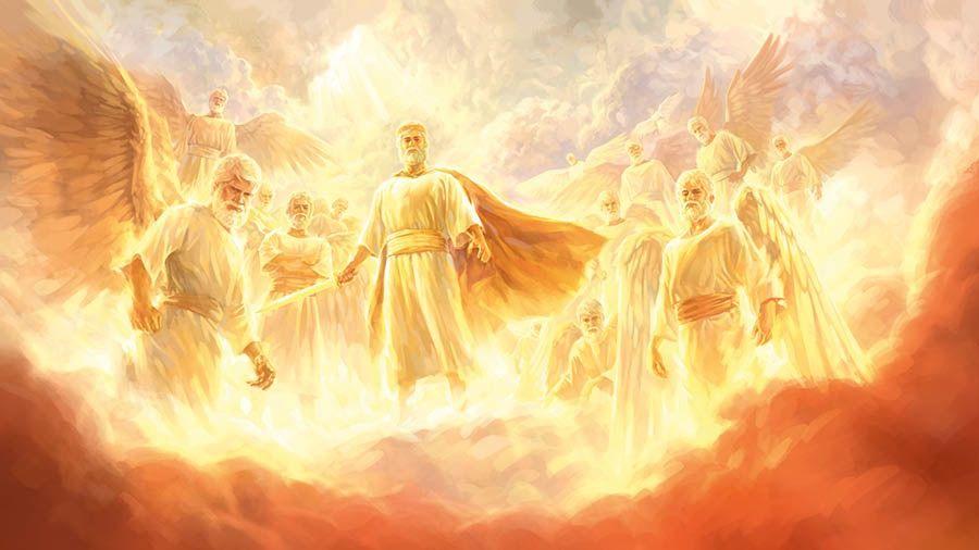 Jesús es un poderoso Rey celestial que está al frente de un ejército  de ángeles   Heaven art, Jesus art, Prophetic art