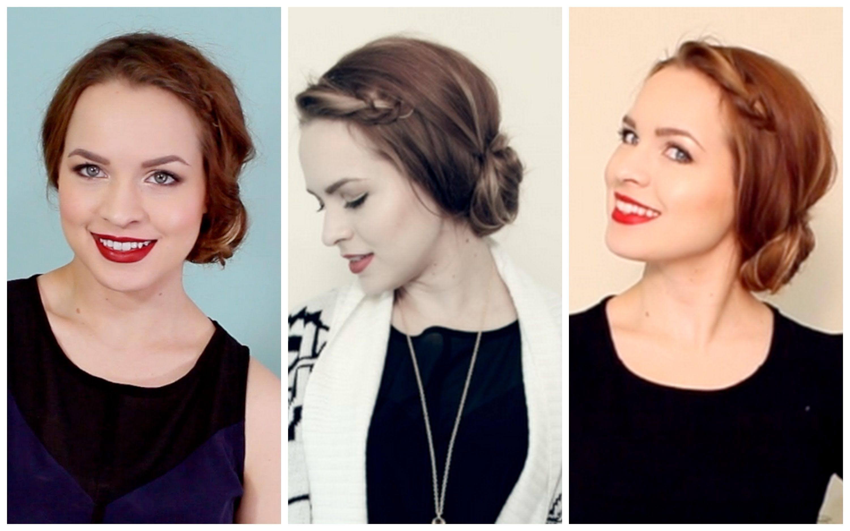 Quick Easy Wear Anywhere Side Bun Hair Pinterest Hair