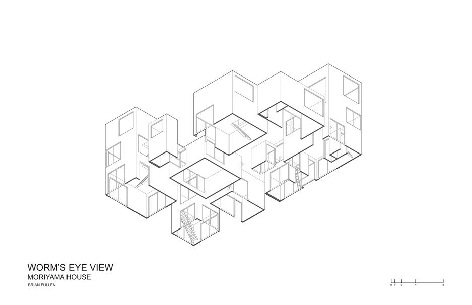 Moriyama House | diagram | Pinterest | House plans, Scale and Results