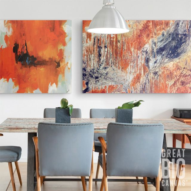 Take Your Dining Room Decor To The Next Level With A Combination