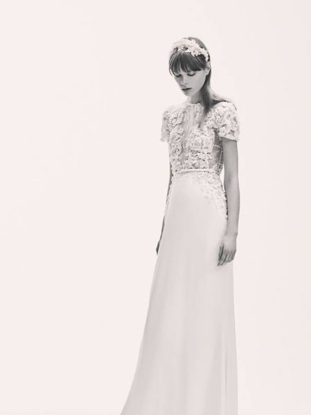 Vestidos de novia corte recto 2017: Luce un diseño espectacular que resalte tu figura Image: 20