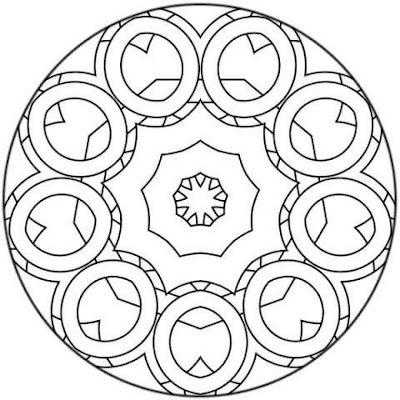 mandala mandalas Pinterest Mandalas, Mandala para colorear y