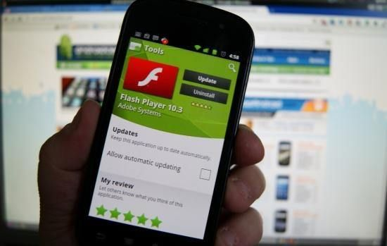 adobe flash for android apk