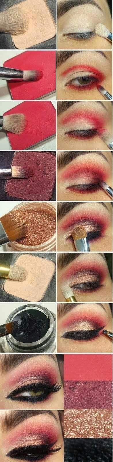 Pin By Jessica Jacobo On Make Up Colorful Eyeshadow Eye