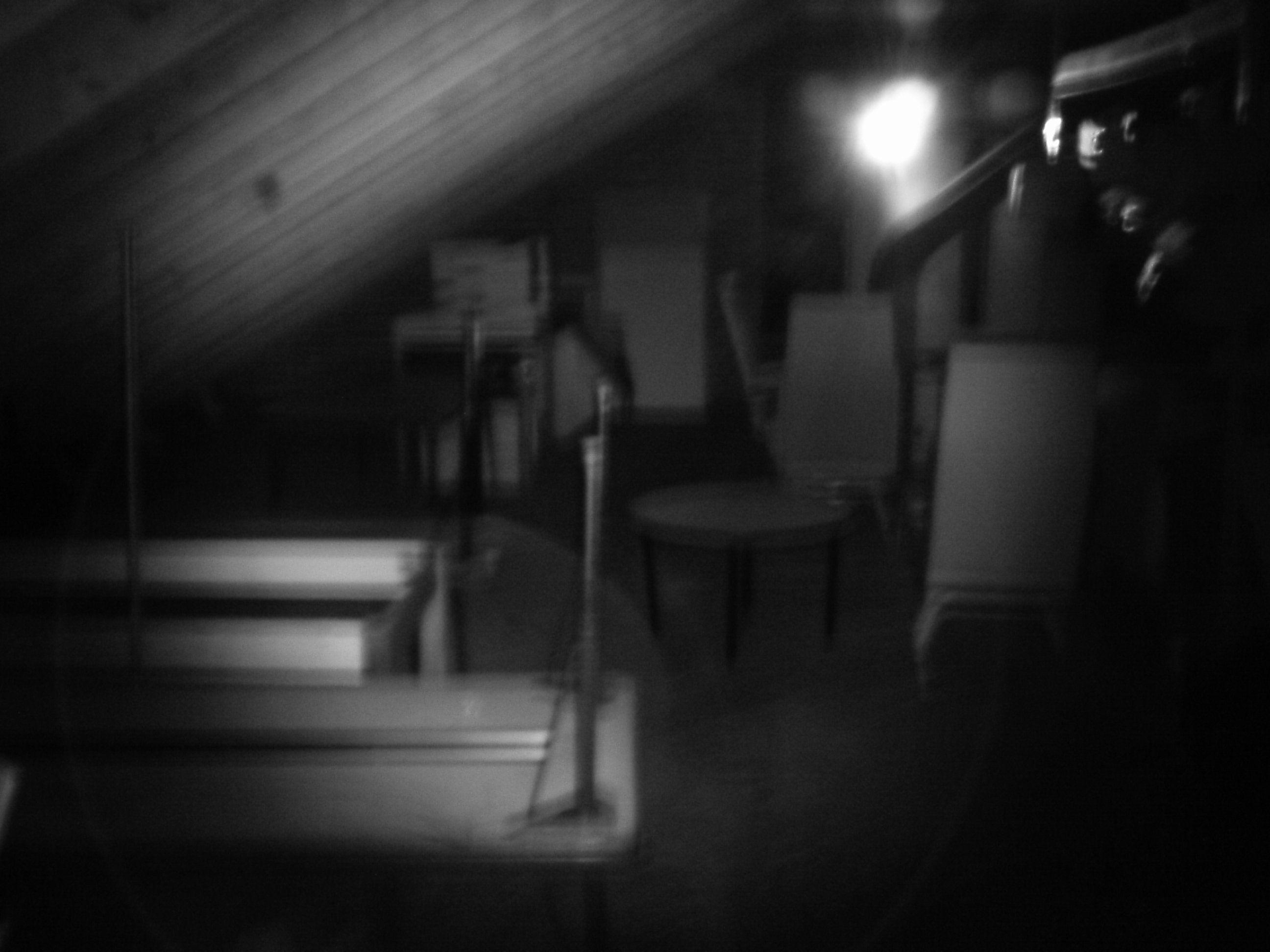 Ghost photo taken in the attic of the Alton YWCA. #STLPRS