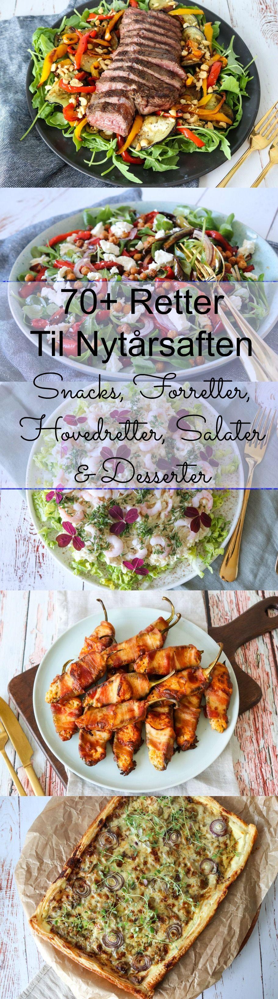 Mad Til Nytårsaften - Snacks, Forretter, Hovedretter, Salater Og Dessert #nytårdesserter
