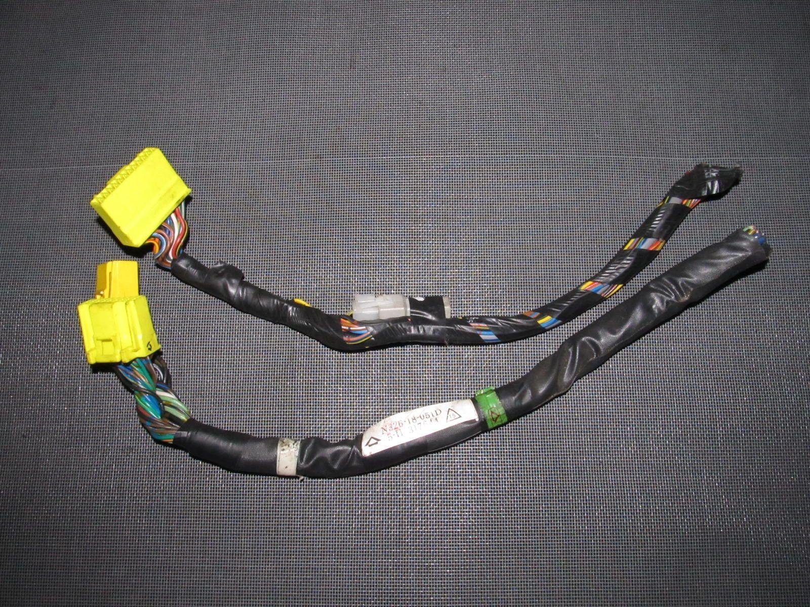 medium resolution of 86 88 mazda rx7 oem ecu engine computer wiring harness 3 pieces