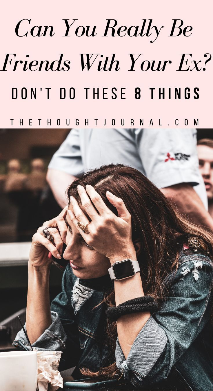 8 rules for being friends with your ex and boundaries to