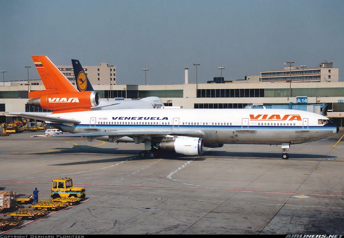 McDonnell Douglas DC-10-30 - Viasa | VIASA | Pinterest | Avión