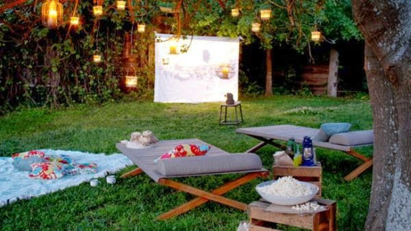 cine en jardin - Buscar con Google