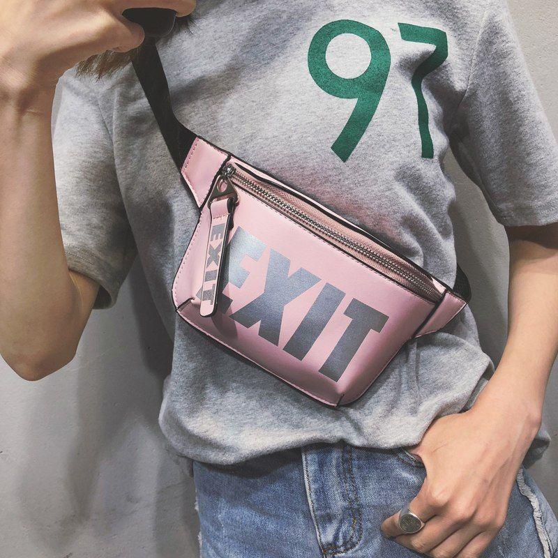 Women S Exit Print Belt Bag Awessories Women S Accessories Waist Bag Women Bags Belt Bag