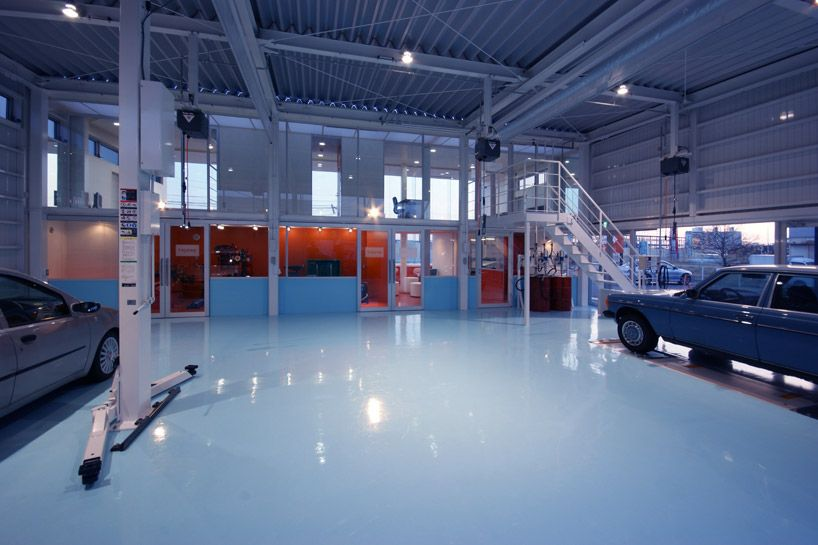 Future Scape Architects Mederu Auto Repair Shop With Images