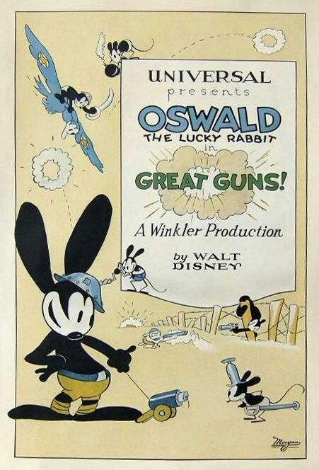 Oswald | Oswald the lucky rabbit, Vintage disney posters, Disney drawings