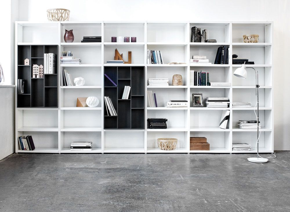 Superb Design Your Own Lecco Wall System And Fill It Out With Books, Pictures And  Skulptures