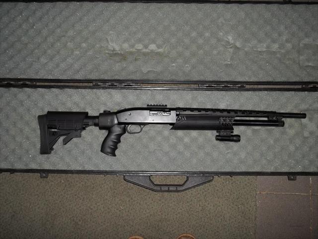 My Mossberg 500 Tactical  20 gauge shotgun      | Products I Love