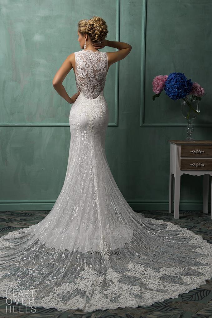 theheartoverheels:  Amelia Sposa 2014 Wedding Dresses Heart Over Heels