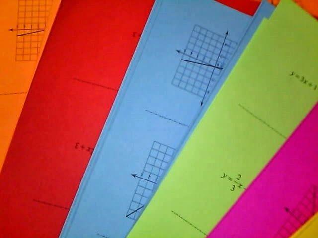 Using Kuta worksheets for sorting activity   9 square