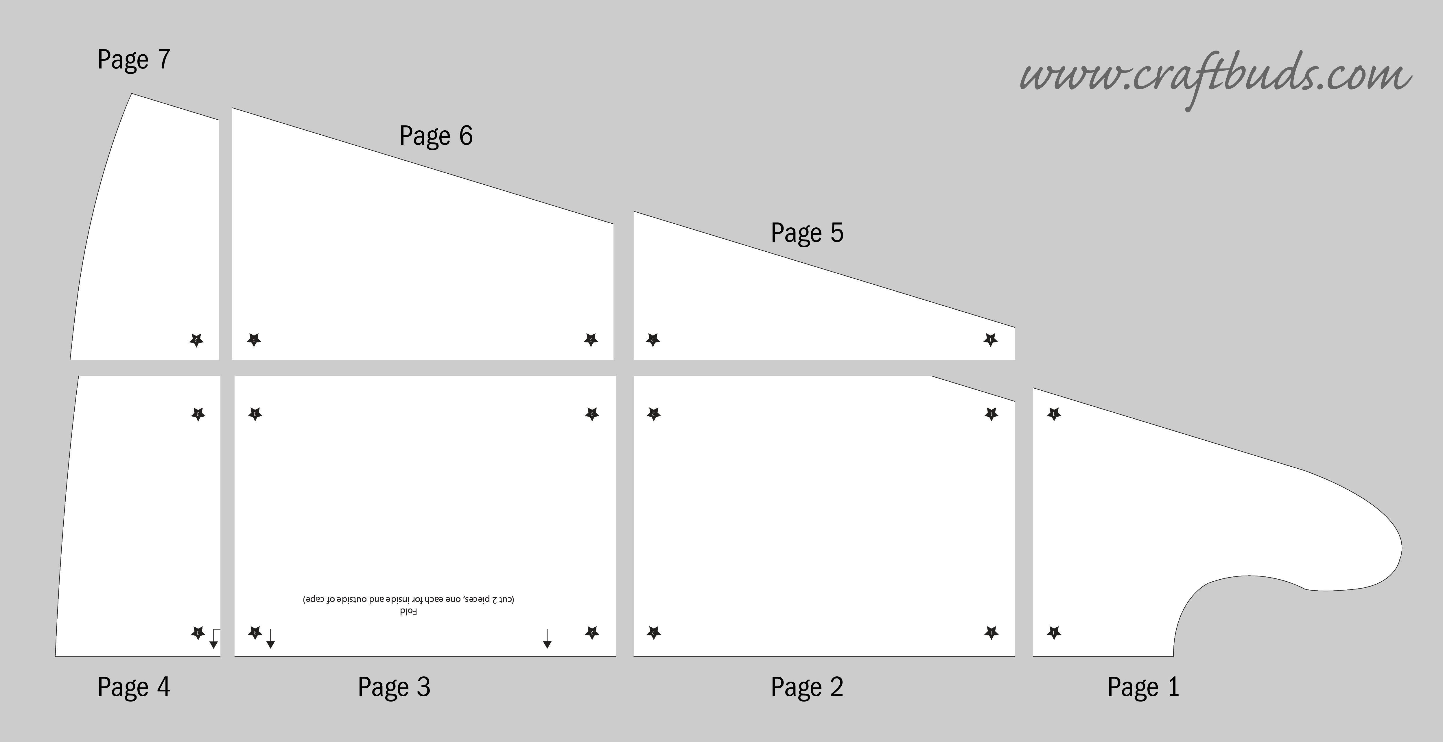 cape page layout | Creative | Pinterest