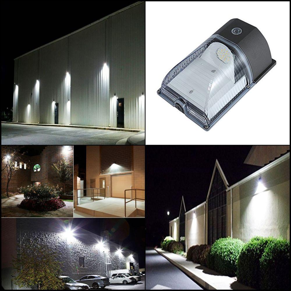 Wall Mount LED Yard Security Light 26W Lighting Dusk to Dawn