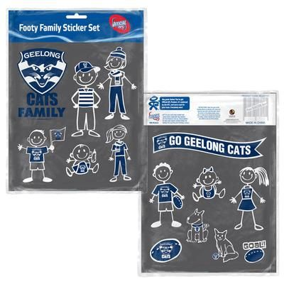 Geelong cats family car stickers 10 oh yeah